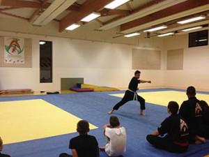 Photo d'entraînement