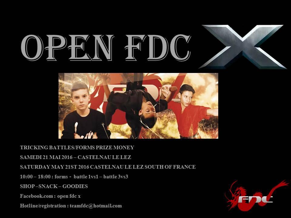 Open FDC X