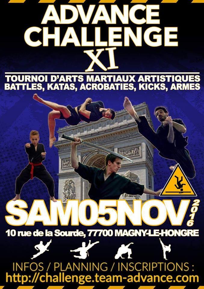 Advance Challenge XI (Nov 2016)
