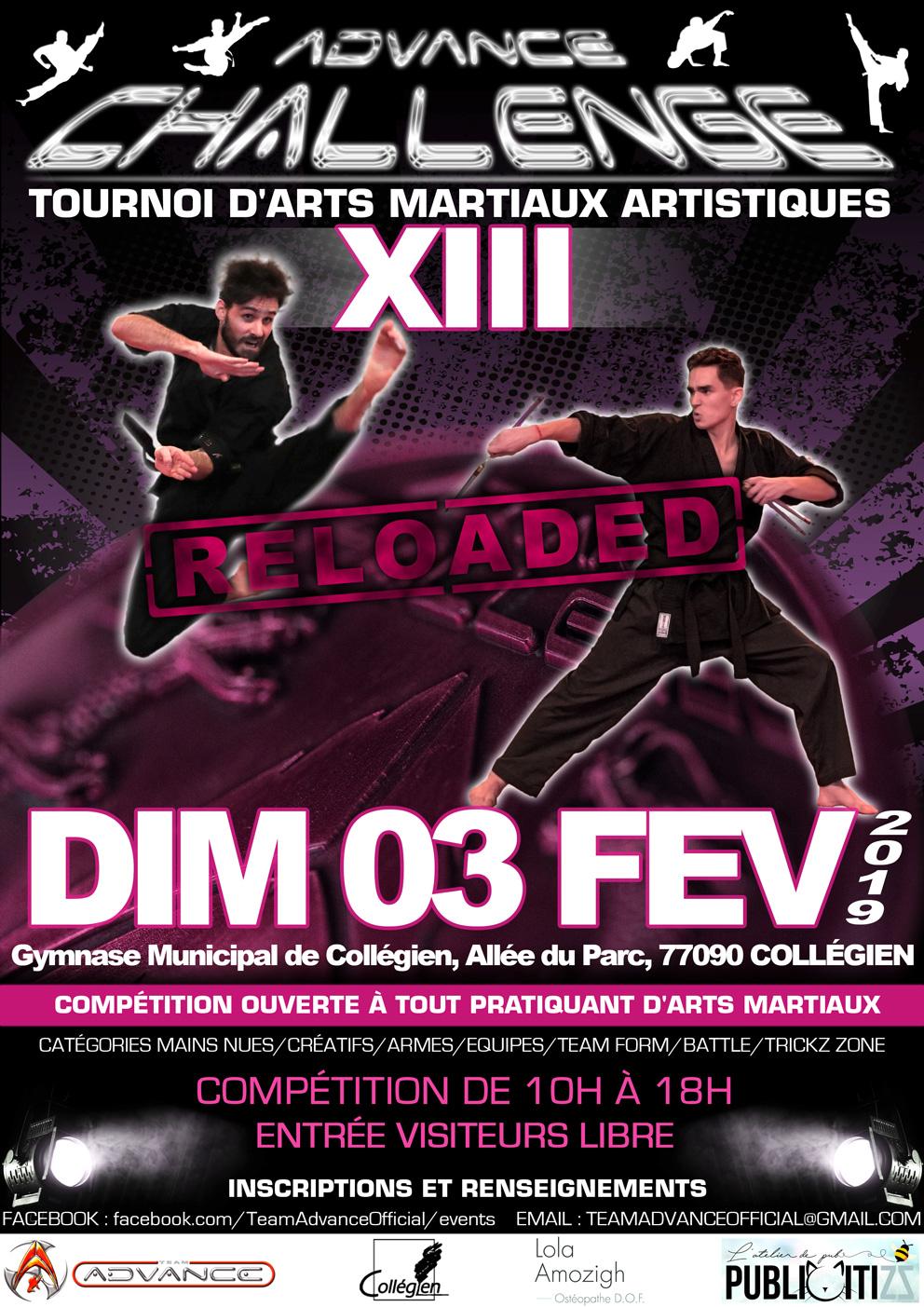 Advance Challenge XIII «RELOADED» (Fév 2019)