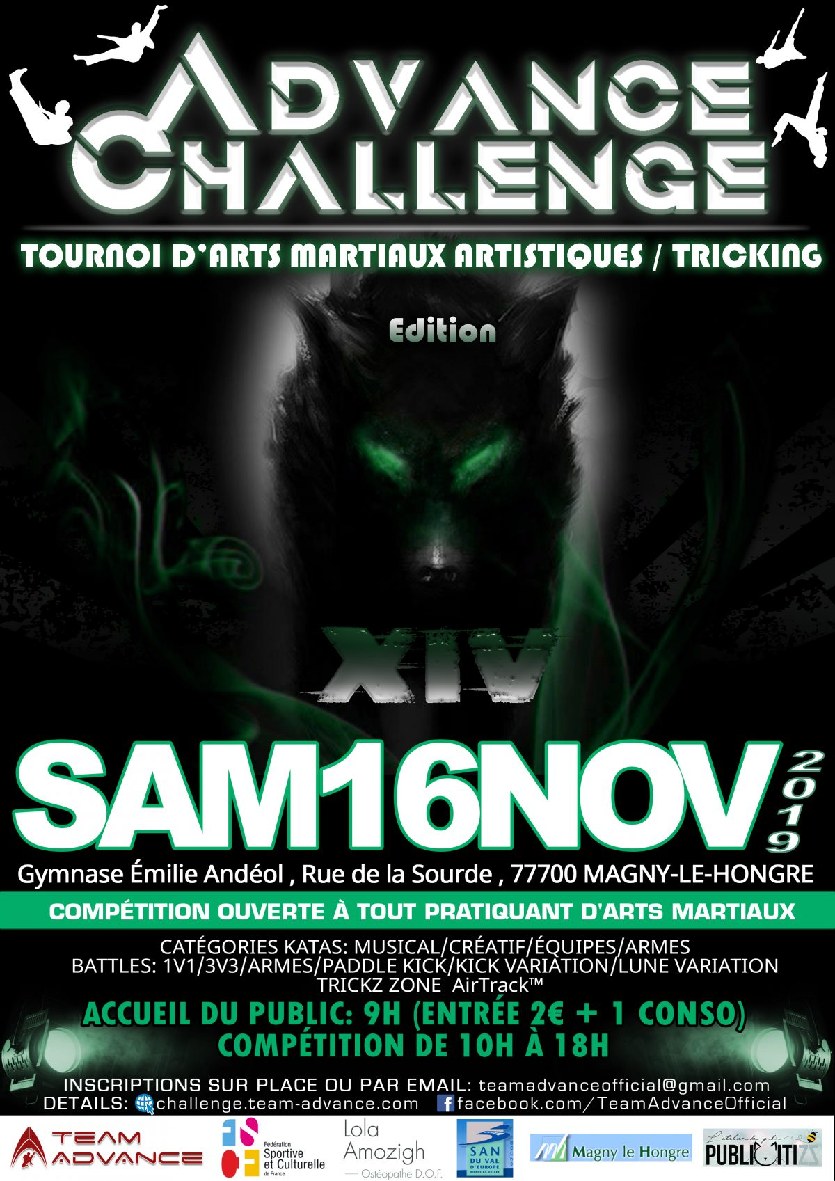 Advance Challenge XIV (Nov 2019)